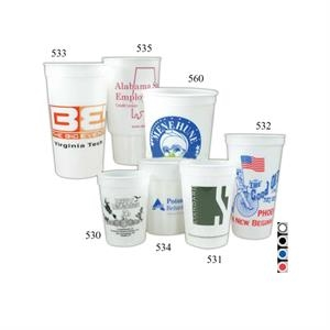 530 12 Oz. Glow In The Dark Stadium Cup