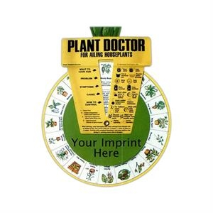 Plant Doctor Stock Guide Wheel With 40 Common House Plant Ailments
