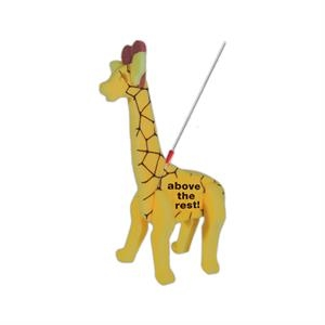 Giraffe on a Leash