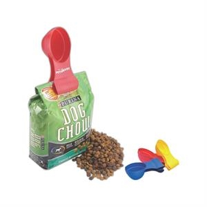Scoop-n-clip - 2 Cups - A Measuring Scoop And A Bag Clip All In One