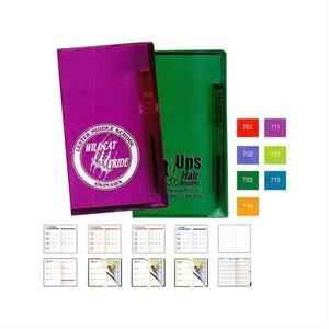 Translucent Vinyl Cover Pocket Tally Book With Flat Matching Pen