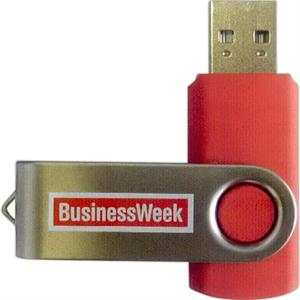 "Swivel Drive I - 2gb - Usb Flash Drive Memory Stick, 0.7"" X 0.38"" X 2.0"""