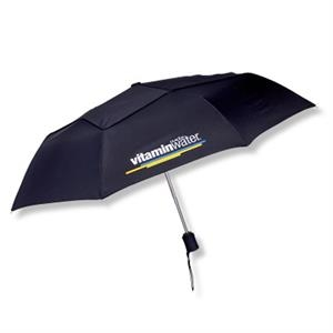 "Executive - Automatic Vented One Touch Open/close Mini 43"" Arc Folding Umbrella"
