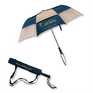 The Champ - Largest Vented Technology Folding Golf Umbrella With Hexagon Shaft