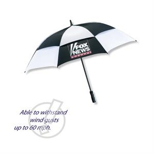 "The Mvp - Vented Technology Golf Umbrella Made Of Nylon, 62"" Arc"
