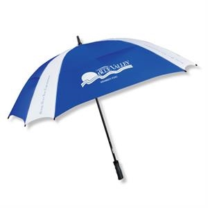 "The Cyclone - Square Design Vented Technology 62"" Arc Umbrella"