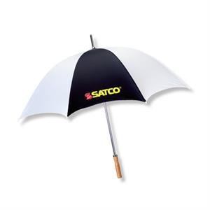"The Booster - Sport/golf 60"" Arc Umbrella With Steel Shaft/double Ribbed Construction"
