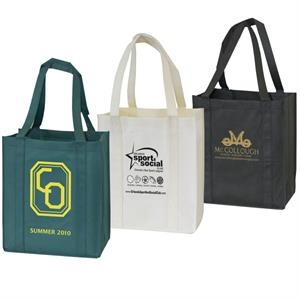 Supermarket - Non-woven Tote With Cardboard Pad On The Bottom