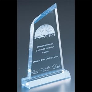 "Executive Series - Blank Goods. Acrylic Executive Award, 4"" X 6 1/2"" X 3/4"""