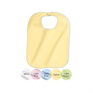 Precious Cargo (r) - Infant 5.9 Oz. 100% Cotton Interlock Bib With Velcro Neck Closure