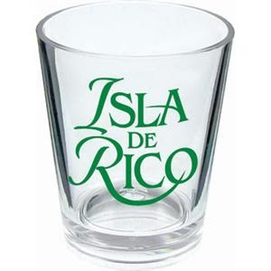 1.25 Oz - Shot Glass Made Of Styrene