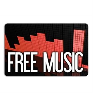 Prepaid Music Download Card