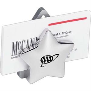Silver Metal Star Cardholder