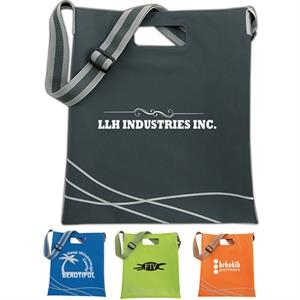 Double Up Tote Made Of 600 Denier Polyester With Pvc Backing