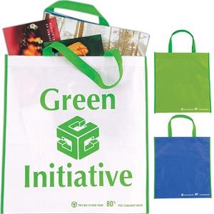 Eco Non-woven Tote With Pet And Polyester Laminate