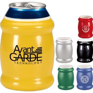 Koozie (r) - Metallic Looking Vinyl Can Cooler With 2 Layer Insulation