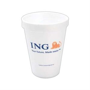 500 Line - Foam 12 Oz. Hot Or Cold Cups, Product Can Be Recycled