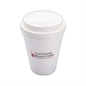 500 Line - Foam 10 Oz. Hot Or Cold Cups, Product Can Be Recycled