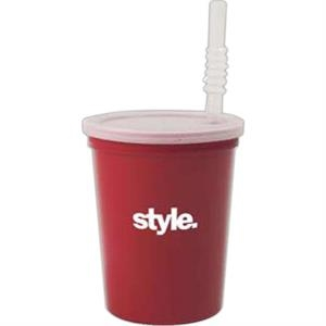 "500 Line - 10 Working Days - Blank 7"" Straw For Stadium Cups"
