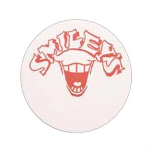 "500 Line - 5 Working Days - White 3.5"" Round 80 Point Pulp Board Coaster"