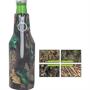 Trademark Camouflage Bottle Insulator, Neoprene (wetsuit), Glued In Bottom