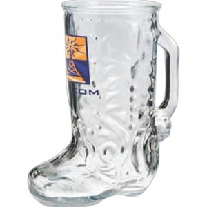 Boot Mug, 16 Oz. Glass