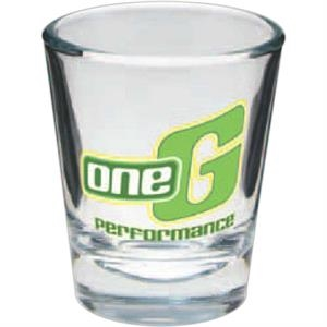 Glass Shot, 1 1/2 Oz., Glass, Clear