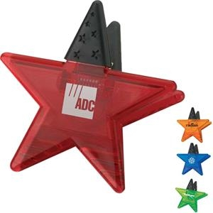 Star Shape Memo Holder Magnet