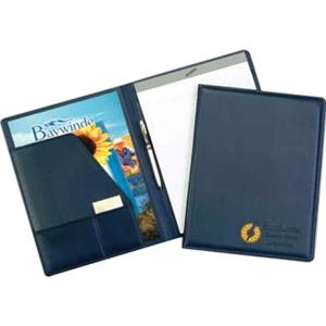 Monaco - Desk Folder Features Padded Covers, Cover Matching Liner, Pad And Pen Loop
