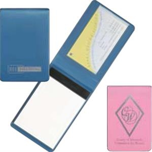 Prestige (tm) - Heat Sealed Economy Simulated Leather Jotter