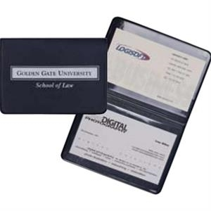 Prestige - Premium Simulated Leather Business Card Holder