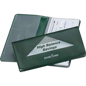 Heat Sealed Checkbook Cover With Compartments