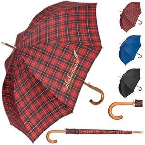 Totes (r) - Push Button Automatic Open Stick Umbrella