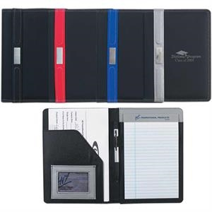 "Contemporary - Portfolio With 30 Page 5"" X 7"" Writing Pad"