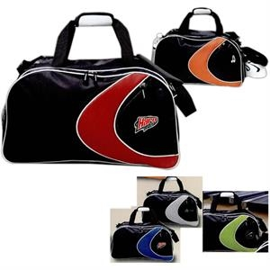 Extreme - Sports Duffel Bag, Dobby Nylon And Mesh With Side Mesh Beverage Pocket
