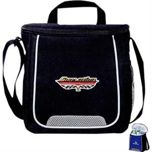 Rally - Twelve Can Cooler Bag With Air Mesh Accents