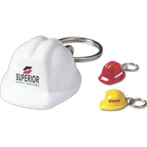 Hard Hat Keychain (Construction Helmet)