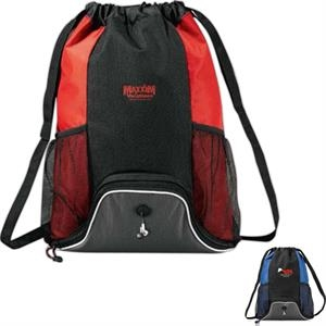 Corona - Deluxe Cinch Bag With Open Main Compartment That Includes Shoulder Straps