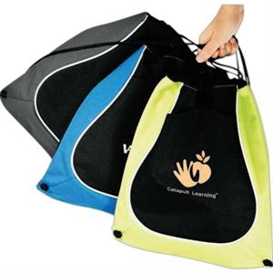 Coil Cinch - Cinch Bag, Carry Over The Shoulder Or Like A Backpack With The Drawstring Design