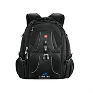 Wenger (r) - Black1680 Denier Polyester Computer Backpack