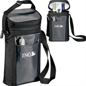 Pacific Trail - Wine Tote Cooler, Constructed Of 600 Denier Polyester Canvas And 210 Denier Nylon