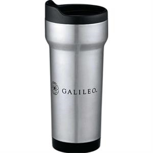 Empire - Silver Stainless Steel Tumbler With Stainless Steel Liner, 14 Oz