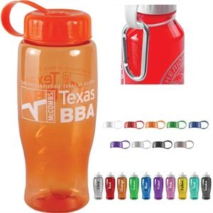 27oz. Sports Bottle With Tethered Lid