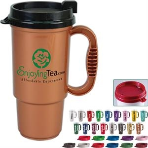 Personal Refillables (tm) - Insulated 16 Oz. Auto Mug, Bpa Free, Reusable And Recyclable Polypropylene