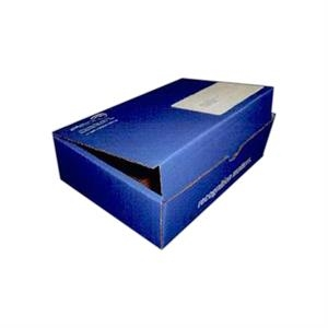 "Addition Of Spot Mount Label - B-flute Corrugated Tuck Box With Inside Tuck Closure, 5 1/2"" X 4 1/2"" X 2 1/2"""