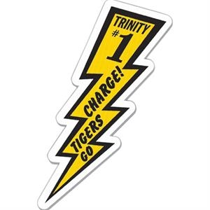 Spirit (r) - Lightning - Weather Resistant Spirit Sign, Appeals To Fans Of All Spectator Sports