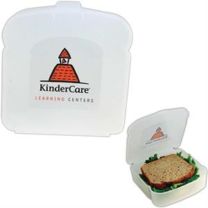 Sandwich Container With One Piece Design