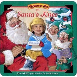 Pictureme (r) - On Santa's Knee Book With Your Child As The Main Character