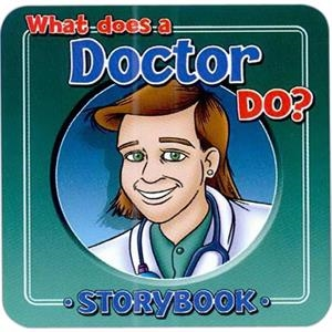 Children's Storybook On What A Doctor Does
