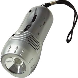 Hi-tech - Flashlight Radio Features An Am/fm Radio, Siren And Built In Speaker